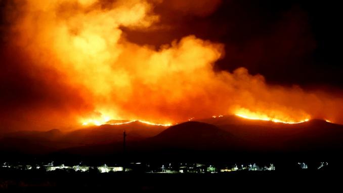 Forest Fire Washington