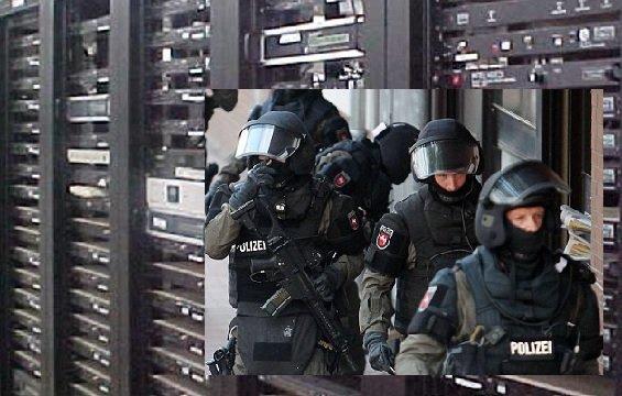 German servers seized by U.S. military raid